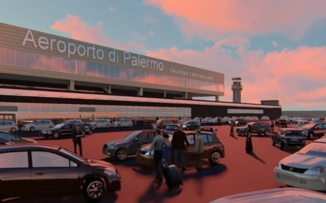Un nuovo volto per l'aeroporto ''Falcone e Borsellino'' di Palermo