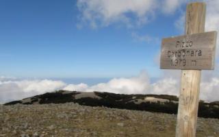 Su Pizzo Carbonara, la vetta più alta delle Madonie