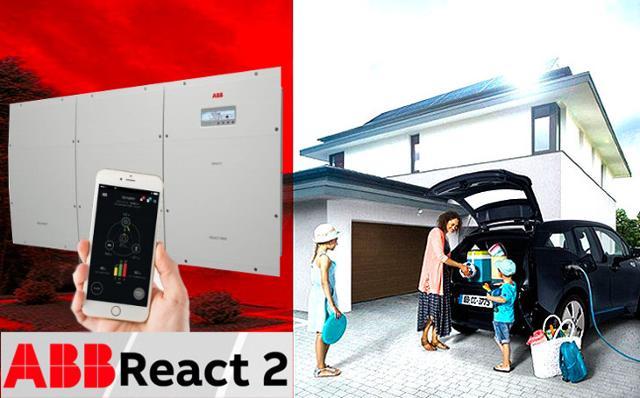 Sistema di accumulo ABB Power-One React 2