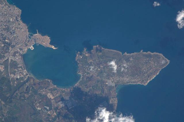Baia del Porto Grande e Penisola della Maddalena, Siracusa