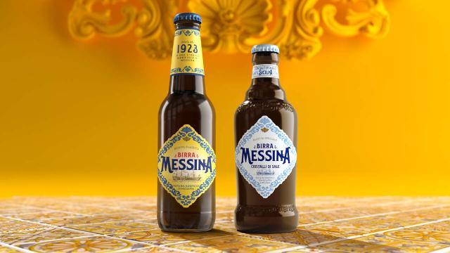 La Birra Messina Classica e la Birra Messina Cristalli di Sale