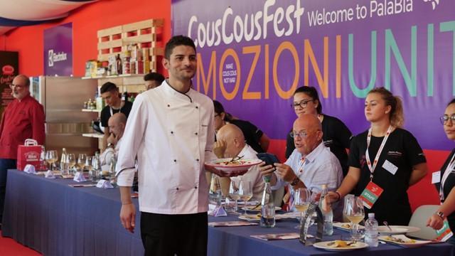 Lo chef Antonio Bellanca vincitore del Campionato italiano Bia CousCous 2018