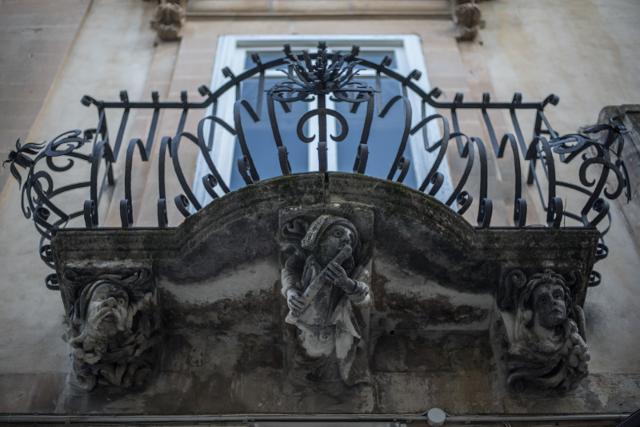 Balcone di Palazzo La Rocca, Ragusa Ibla