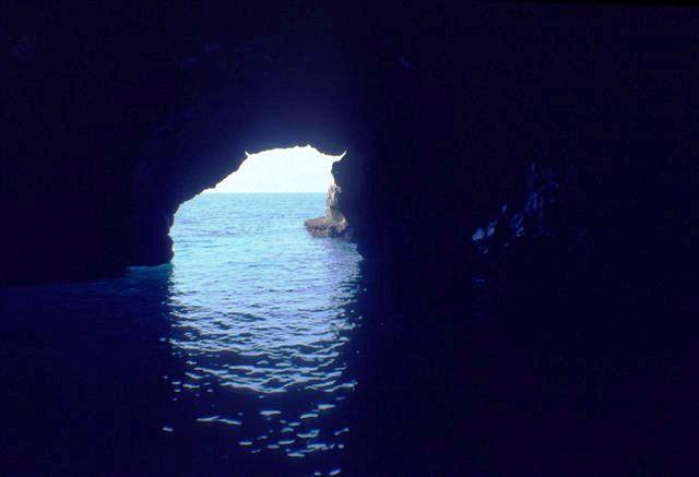 Grotta dell'Olio, Area Marina Protetta Capo Gallo - ph Alberto Romeo