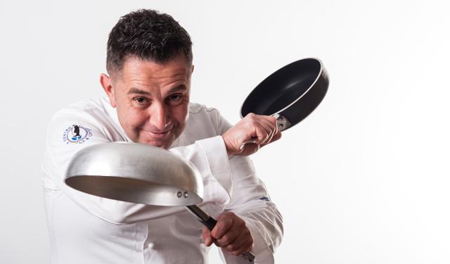 Lo chef Alfio Visalli