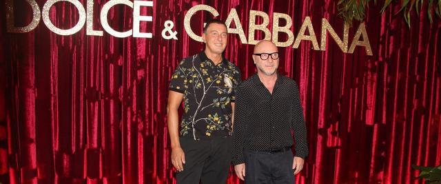 Sciacca blindata per l'arrivo di Dolce & Gabbana