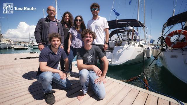 """""""Tuna Route"""" - L'equipaggio della Sun Odyssey 519"""