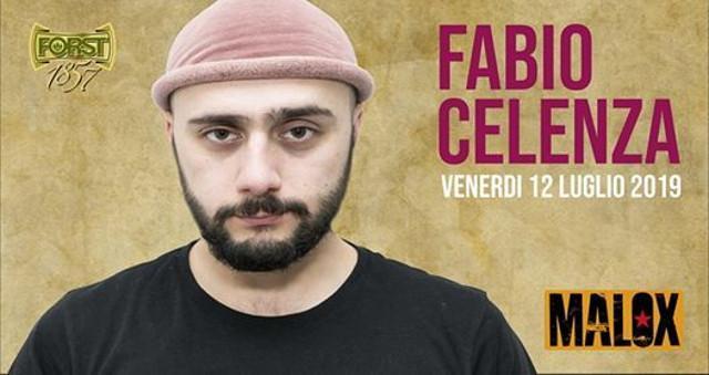 Fabio Celenza al Malox di Palermo