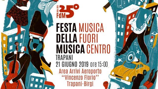 All'aeroporto di Trapani è Festa della Musica 2019