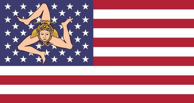 Dopo lo sbarco alleato in Sicilia, una frangia del movimento separatista, uscito dalla clandestinità in cui era stato sotto il periodo fascista, chiese l'affrancamento dell'isola dal Regno d'Italia e la sua annessione agli USA. All'epoca però si parlò di 49º Stato, in quanto Alaska e Hawaii non erano ancora parte della federazione.