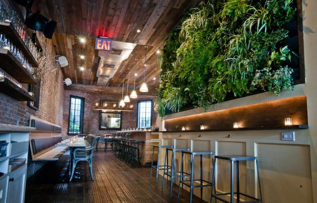 Il ristorante Colonie a Brooklyn Heights