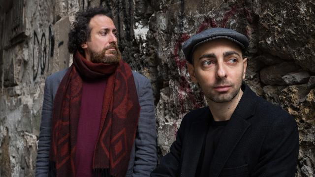 Salvo Piparo e Francesco Cusumano in una foto di Ciccio Marotta