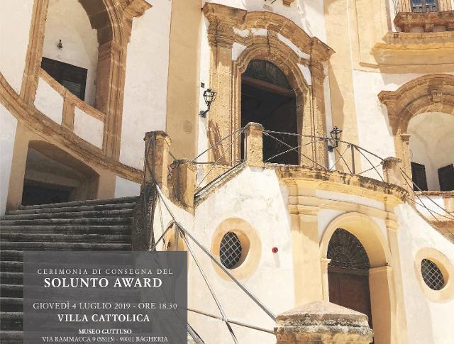 """""""Solunto Award"""", giovedì 4 luglio 2019, Villa Cattolica - Bagheria"""