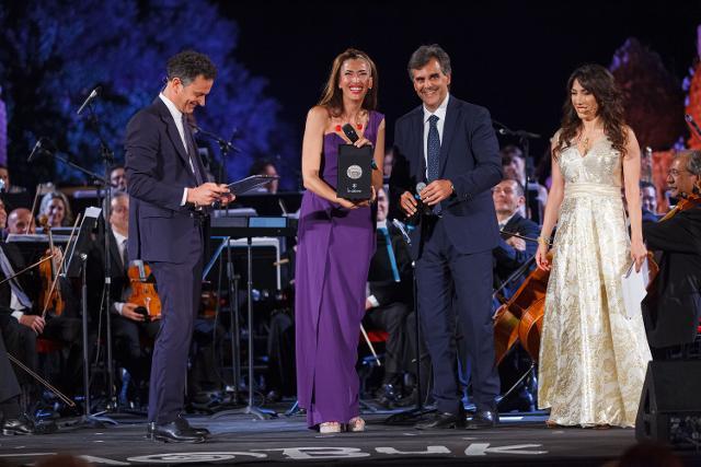 La consegna del Taobuk Award a Nina Zilli - Foto di Giampiero Caminiti