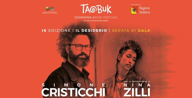 Simone Cristicchi e Nina Zilli per la serata di Gala della IX edizione del Taobuk