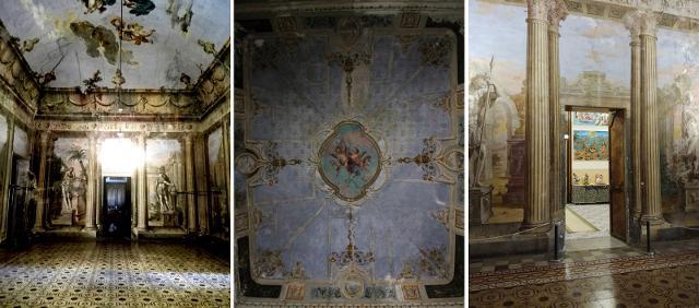 Alcuni particolari di Villa Adriana - ph www.palermodavedere.it