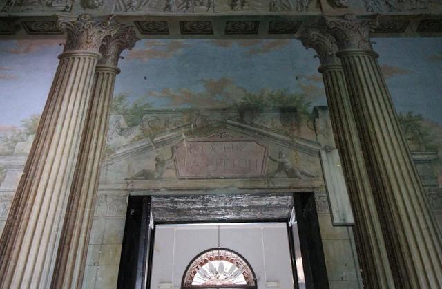 Trompe-l'œil a Villa Adriana - ph www.palermodavedere.it