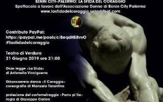 Benin City – Palermo: la sfida del coraggio