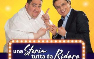 """Salvo La Rosa e Carmelo Caccamo in """"Una storia tutta da ridere''"""