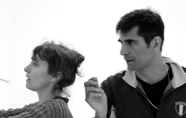 Raffaella Spagna e Andrea Caretto