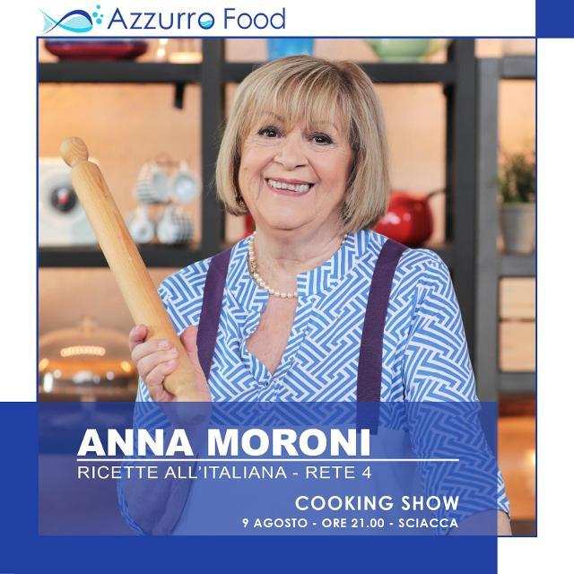 Anna Moroni all'Azzurro Food