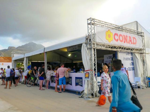 L'area Conad al Cous Cous Fest di San Vito Lo Capo