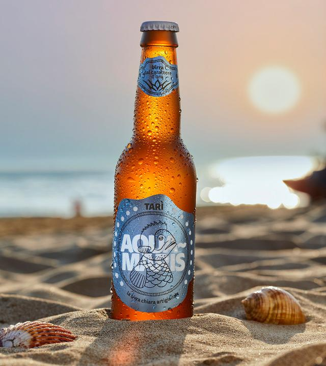 """Aquamaris"", la birra all'acqua di mare del birrificio modicano Tarì"