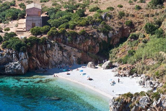Spiaggia di Tonnarella dell'Uzzo di Scopello
