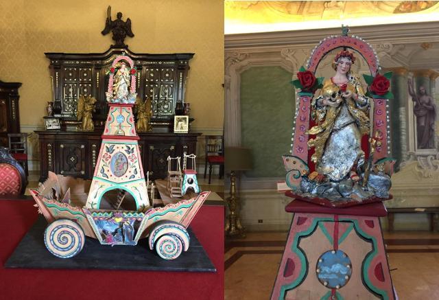 Il Carro Trionfale di Santa Rosalia ideato da Fabrizio Lupo