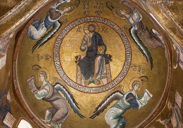 Il Cristo Pantocratore della Martorana