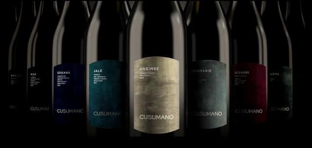 I vini Cusumano che saranno abbinati ai piatti delle serate