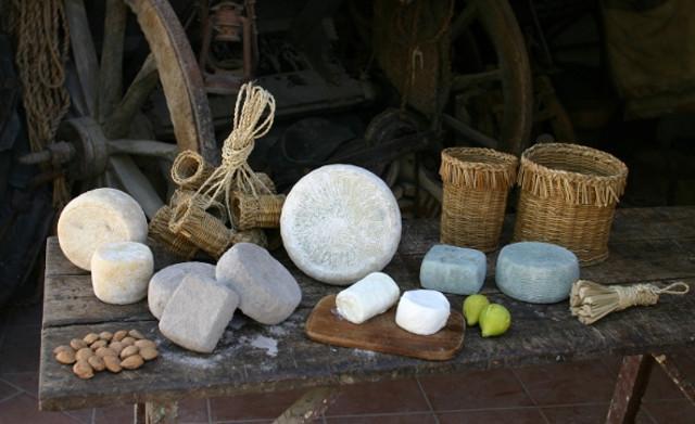 Alcuni formaggi tipici dei Monti Sicani