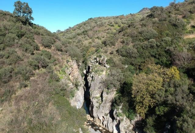 Le Gole di Tiberio viste dall'alto - ph Rosariovecchio89