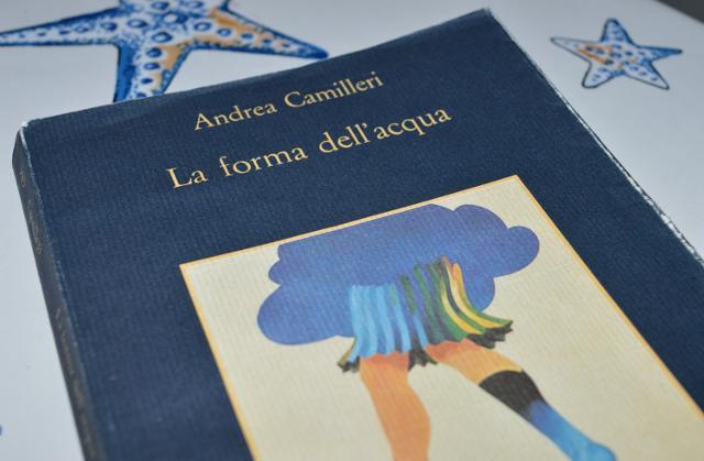 """""""La forma dell'acqua"""" il primo romanzo di Andrea Camilleri con protagonista il commissario Salvo Montalbano"""