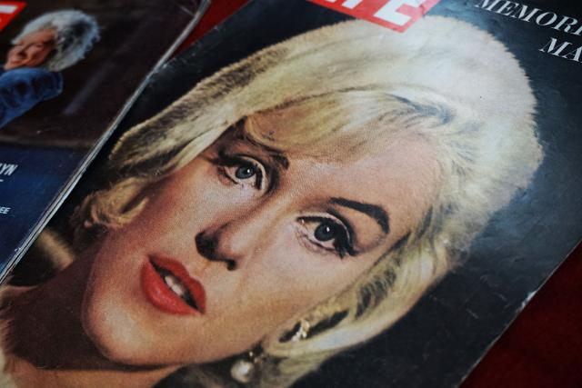 Marilyn Monroe sulla copertina di Life, un altro pezzo della Collezione Cantone