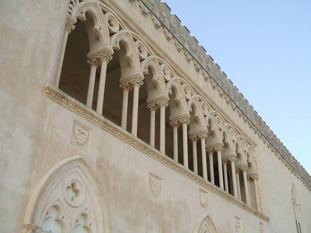 Le colonne del loggiato del Castello di Donnafugata - ph I, LeZibou