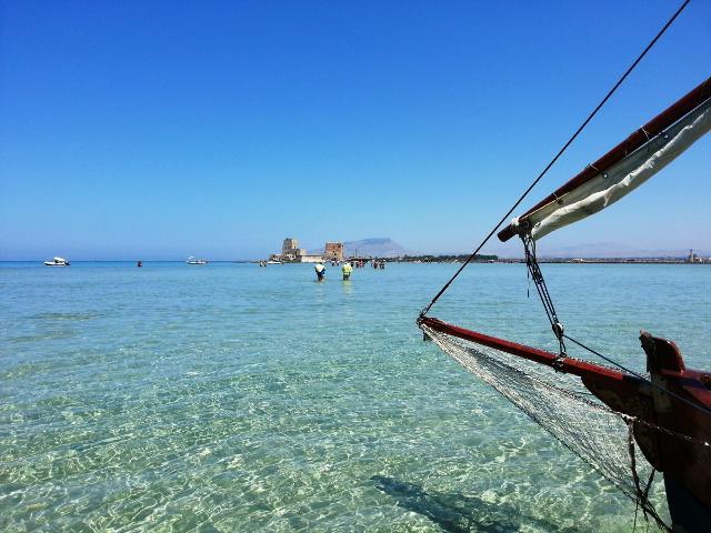 Il mare trasparente di Marsala