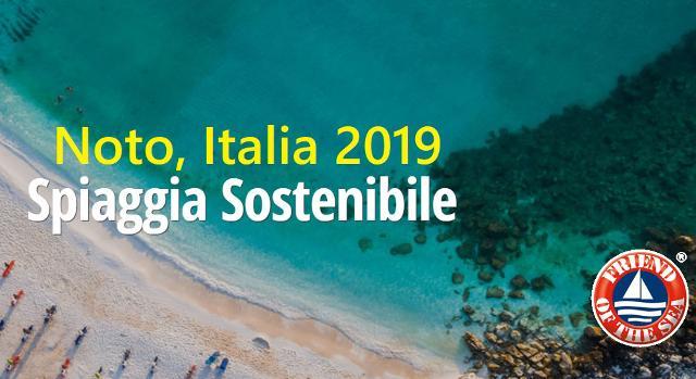 Noto, Spiaggia Sostenibile 2019