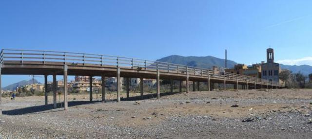 Il pontile Romagnolo, Palermo