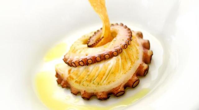 Un piatto di Pino Cuttaia