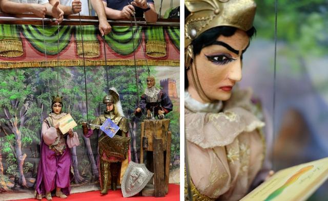 Calici di Stelle 2019 a Donnafugata con l'Arte dell'Opera dei Pupi Siciliani