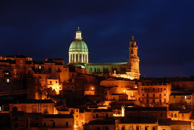 Ragusa Ibla by night - ph Luca