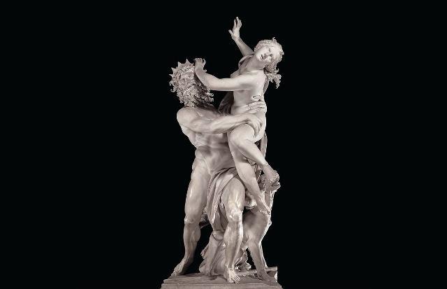 """Il """"Ratto di Proserpina"""" di Gianlorenzo Bernini, Galleria Borghese, Roma"""