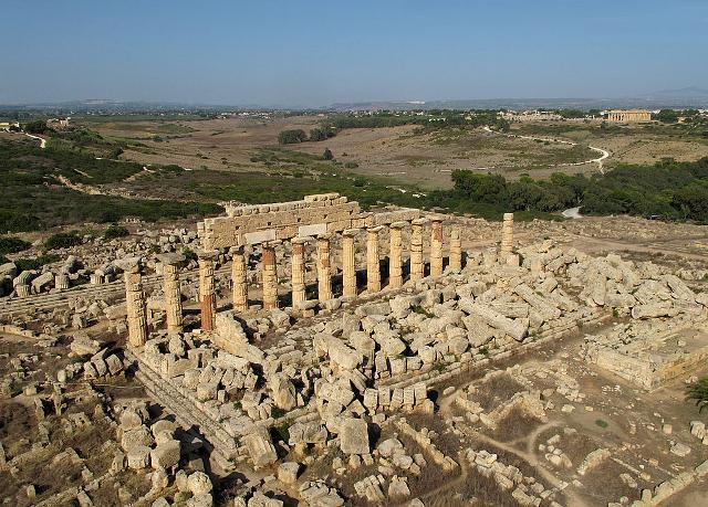 Selinunte, il Tempio C - ph Jorre