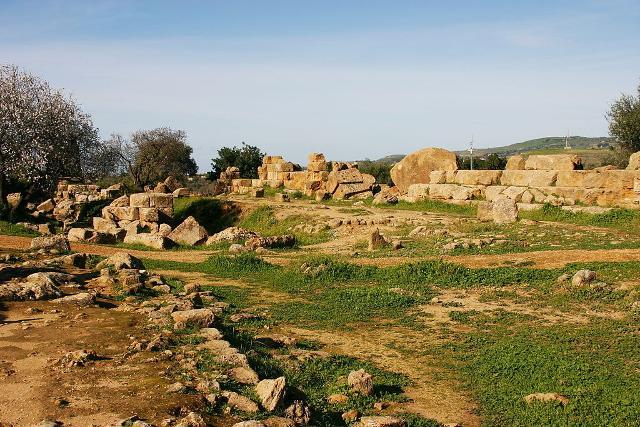 I resti del Tempio di Zeus - ph © José Luiz Bernardes Ribeiro