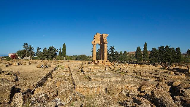 Il Tempio di Castore e Polluce (Dioscuri) - ph trolvag