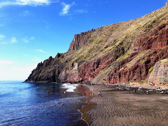 Playa Las Gaviotas di Tenerife