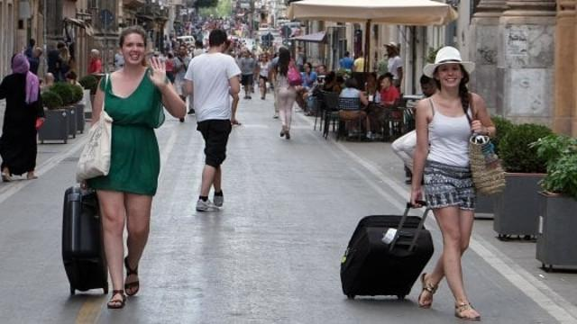Turiste a Palermo