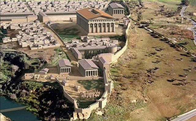 Ricostruzione della Valle dei Templi