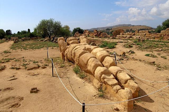Uno dei Telamoni del Tempio di Zeus